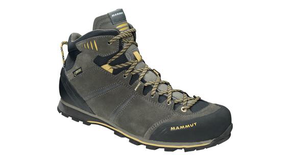 Mammut Wall Guide Mid GTX Shoes Men bark-tuff